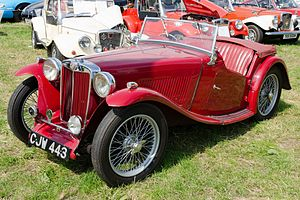 MG T-type - 1939 TA open 2-seater