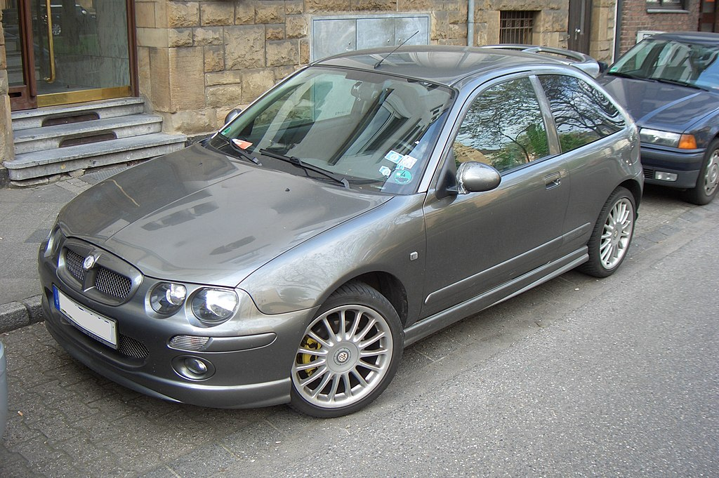 file mg zr 160 gen1 prefacelift 000 2001 2004 frontleft 2012 05 06 wikimedia commons. Black Bedroom Furniture Sets. Home Design Ideas