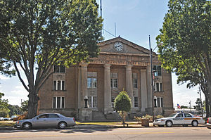 Montgomery County, North Carolina - Image: MONTGOMERY COUNTY COURTHOUSE, TROY, MONTGOMERY COUNTY, NC