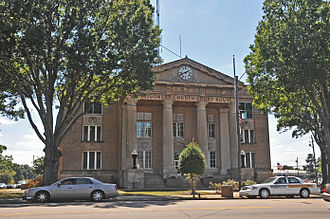 National Register of Historic Places listings in Montgomery County, North Carolina - Image: MONTGOMERY COUNTY COURTHOUSE, TROY, MONTGOMERY COUNTY, NC