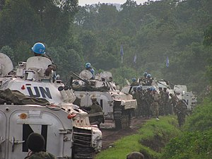 M23 rebellion - MONUSCO troops around Goma, 2012