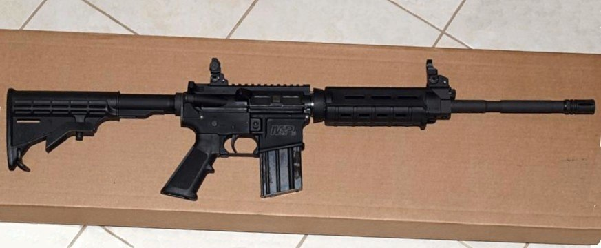AR-15 style rifle - Howling Pixel