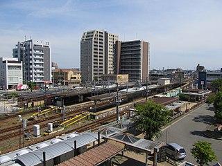 Iwakura Station (Aichi) Railway station in Iwakura, Aichi Prefecture, Japan