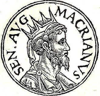 """Macrianus Major - Macrianus Major from """"Promptuarii Iconum Insigniorum"""""""