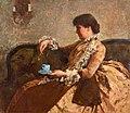 Mademoiselle Sarah Hallowell by Mary Louise Fairchild in 1886.jpg