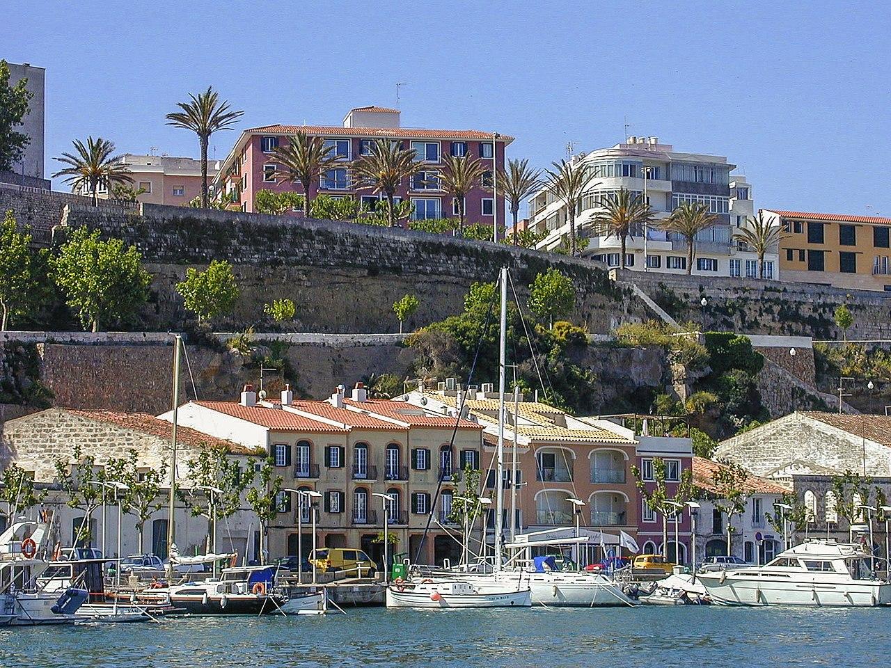 Puerto de Mahón, Menorca