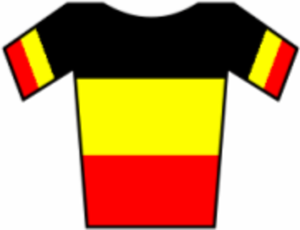 Lotto–Soudal - Image: Maillot Bélgica