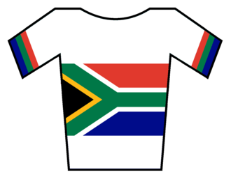 Dimension Data (cycling team) - Image: Maillot Sudáfrica