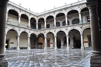 Palace of the Inquisition - Main patio