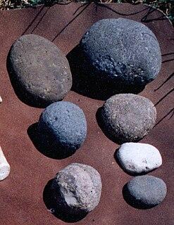 Hammerstone Prehistoric stone tool
