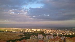 A general view of the city