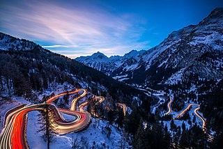 Maloja Pass mountain pass