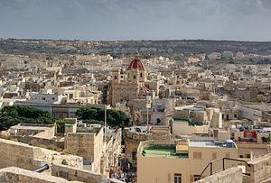 Victoria, Gozo - View of Victoria