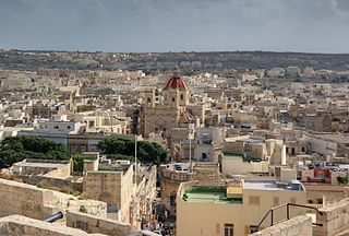 Region of Malta in Gozo and Comino