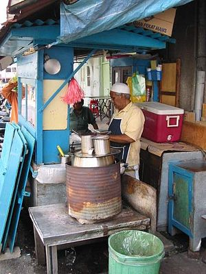 Mamak stall - Picture of traditional Malaysian Mamak and the Mamak stall