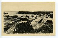 Manchester-by-the-Sea station and harbor postcard.jpg