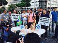 Manifestação PETA no centro do Rio 01.jpg