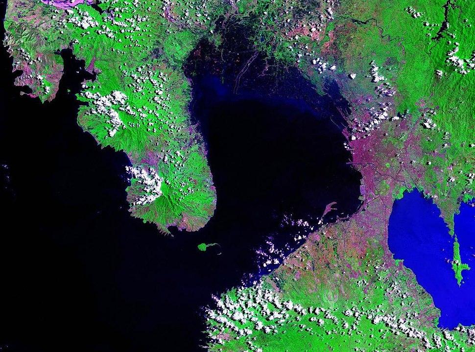 Manila Bay Landsat 2000