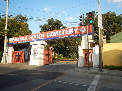 Paano pumunta sa Manila South Cemetry gamit ang pampublikong transportasyon - Tungkol sa lugar