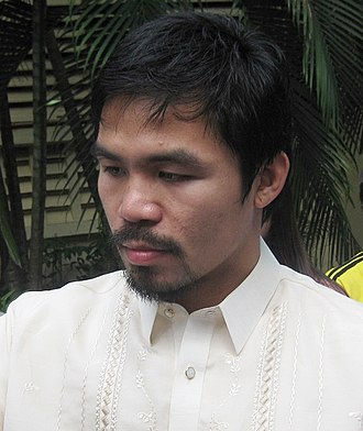 Manny Pacquiao - Manny Pacquiao in Silliman University in Dumaguete, Philippines