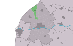 Location of Oosterbierum