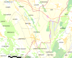 Map commune FR insee code 64453.png