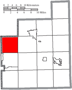 Location of Chester Township in Geauga County