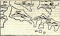 Map of Kres (Cherso) and Losinj (Ossero) islands, also charting Istria, and Krk (Vegia) and Rab (Arbe) islands - Bordone Benedetto - 1547.jpg
