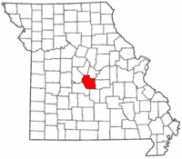 Map of Missouri highlighting Miller County.png