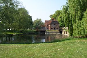 Black Sabbath (album) - Mapledurham Watermill