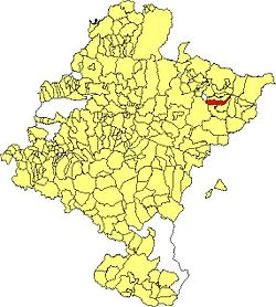 Maps of municipalities of Navarra Sartze.JPG