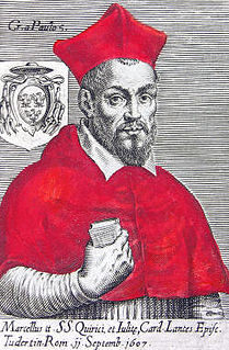 Marcello Lante della Rovere 17th-century Catholic cardinal