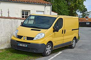Light commercial vehicle - 2006 Renault Trafic, also rebadged as Opel/Vauxhall
