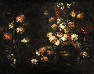 Margherita Caffi - Still-Life with a Vase of Flowers by Margherita Caffi, private collection
