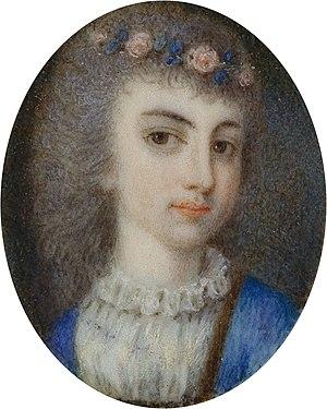 Archduchess Maria Leopoldine of Austria-Este - Maria Leopoldine as Electress of Bavaria.