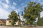 Maria Rain Kirchenstrasse 61 Pfarrkirche Mariä Himmelfahrt NO-Ansicht 13072018 3854.jpg