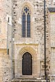 Maria Saal Wallfahrtskirche Mariae Himmelfahrt N-Portal und Maßwerkfenster 24062017 9773.jpg