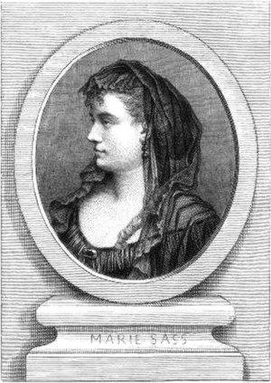 Marie Sasse - Sasse, c. 1855