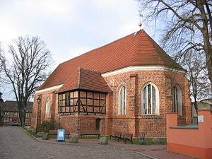 Neustadt-Glewe - Image: Marienkirche Neustadt Glewe