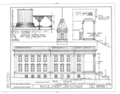 Marin County Courthouse, Fourth Street between A and Court Streets, San Rafael, Marin County, CA HABS CAL,21-SANRA,2- (sheet 8 of 8).png