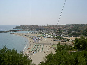 Marina di Camerota - Panoramic view