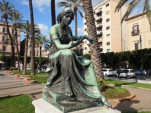 Mario Rutelli - Mario Rutelli: Nautica (1895). Piazza Politeama (Palermo).