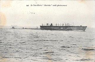 French submarine <i>Mariotte</i>