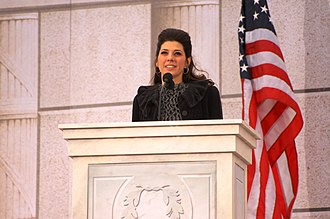 Marisa Tomei - Tomei at the first inauguration of Barack Obama, January 2009