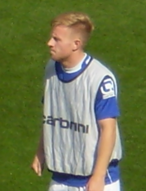Mark Duffy (footballer) - Duffy pictured in August 2014