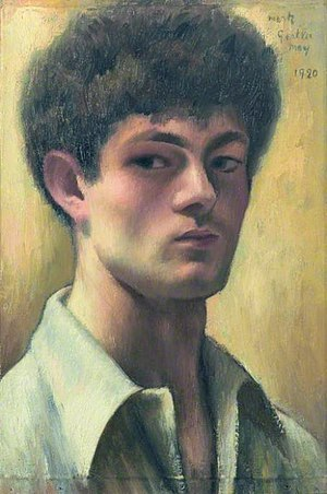 Mark Gertler (artist) - Self portrait (1920)