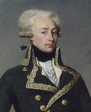 Lafayette, Indiana - General Lafayette, 1792