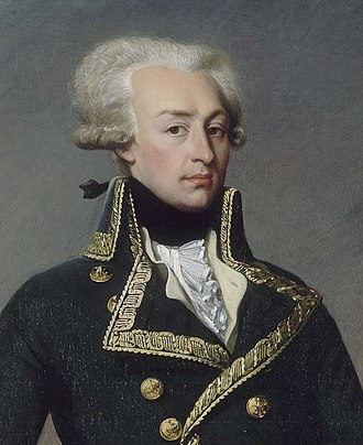 Women's March on Versailles - The Marquis de Lafayette (1757–1834)