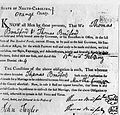 Marriage bond, North Carolina, Feb 1804.jpg