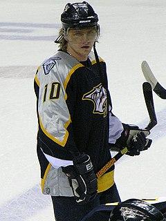 Martin Erat Czech ice hockey player
